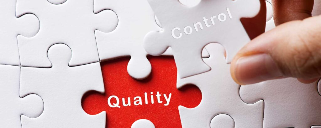 an image portraying the relationship between Control and Quality